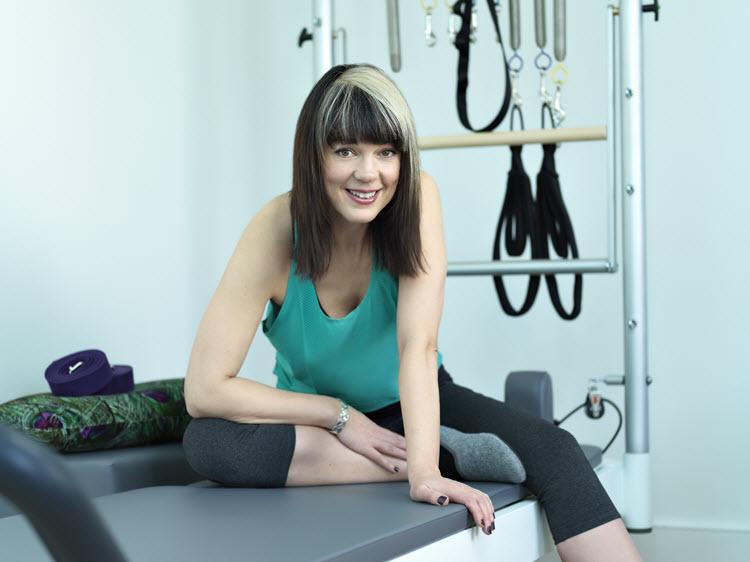 about Ruth Walker pilates teacher Islington